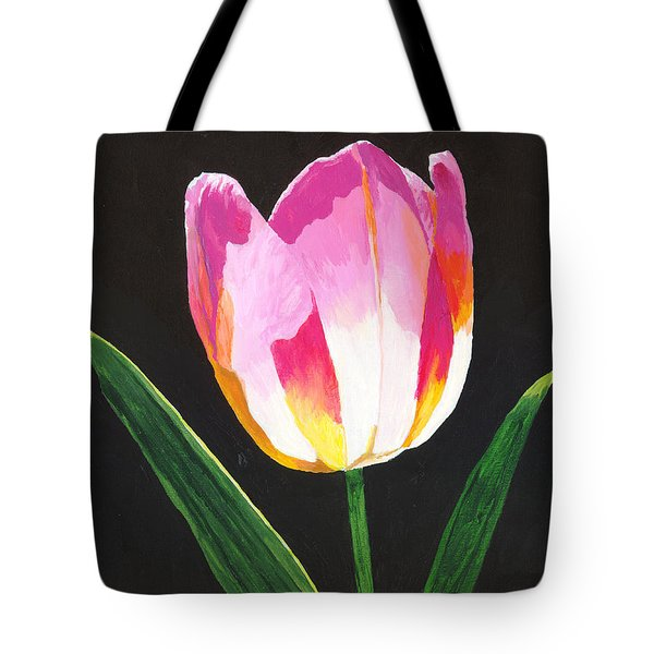 Tote Bag featuring the painting Fairy Lantern by Rodney Campbell