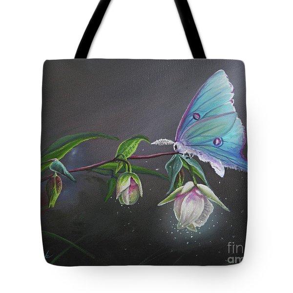 Fairy Lantern's Glow Tote Bag by Joe Mandrick