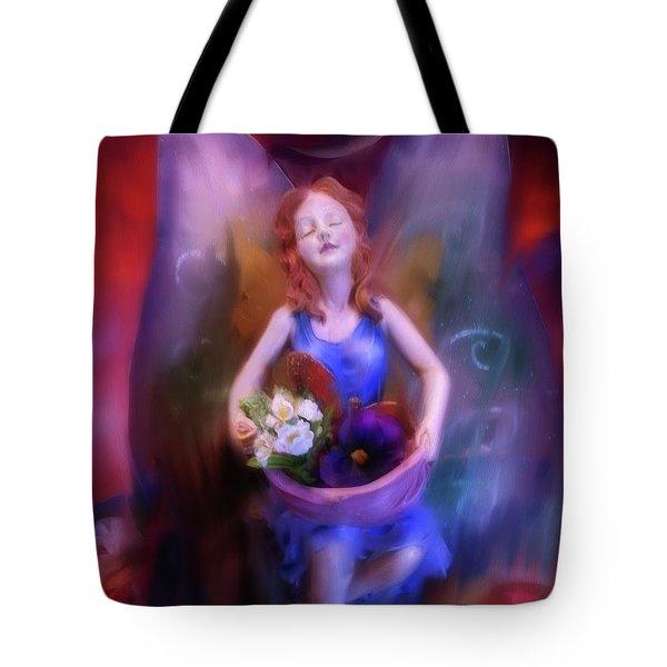 Fairy Of The Garden Tote Bag