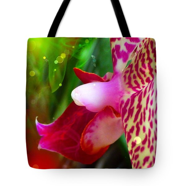 Fairy Orchid Tote Bag