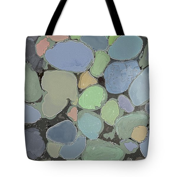 Tote Bag featuring the digital art Fairy Pool by Gina Harrison