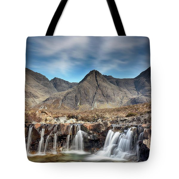 Fairy Pools - Isle Of Skye Tote Bag by Grant Glendinning