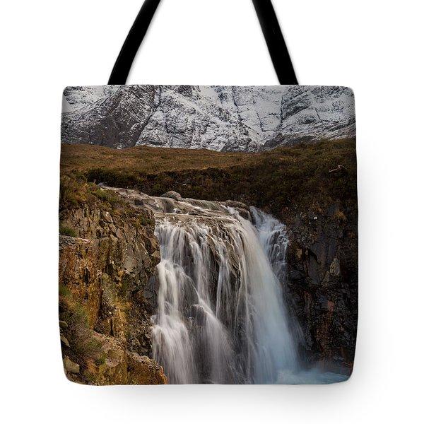 Fairy Pools Waterfall, Isle Of Skye Tote Bag