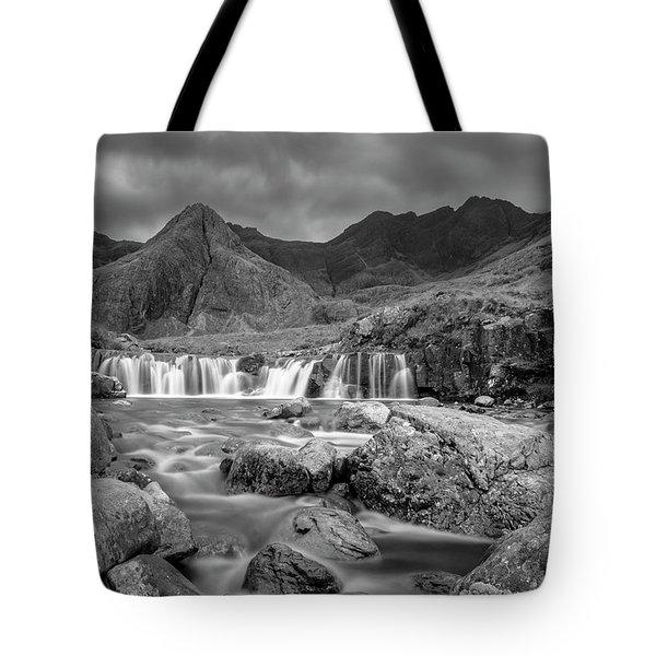 Fairy Pools Waterfall Tote Bag