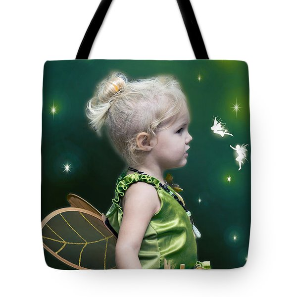 Fairy Princess Tote Bag by Brian Wallace