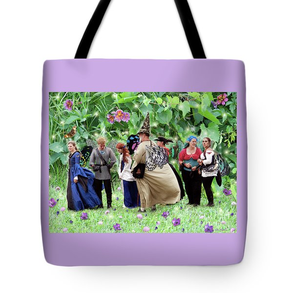 Fairy Queue Tote Bag