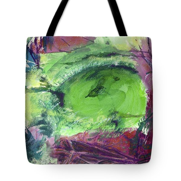 Fairy Ring, Lasso Forest Tote Bag