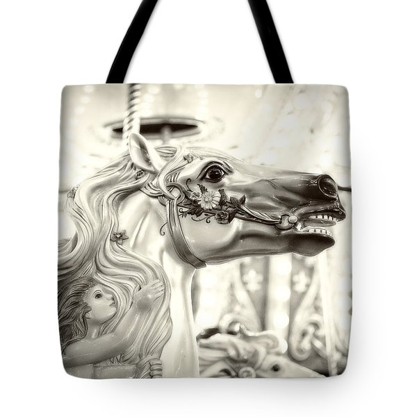 Fairy Steed Tote Bag by Caitlyn  Grasso