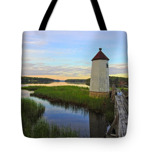 Fairy Tale On The River Tote Bag