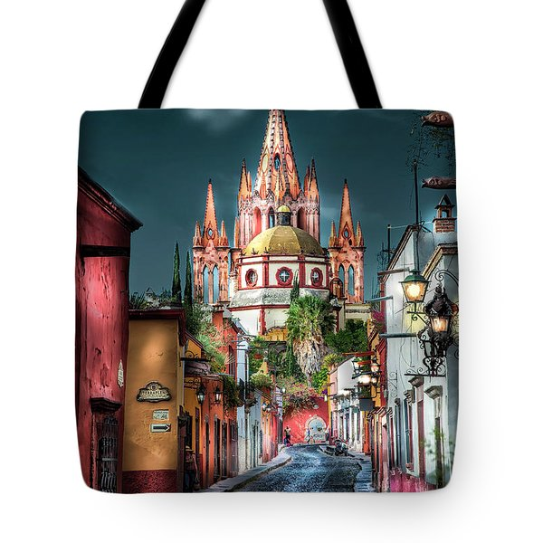 Fairy Tale Street Tote Bag
