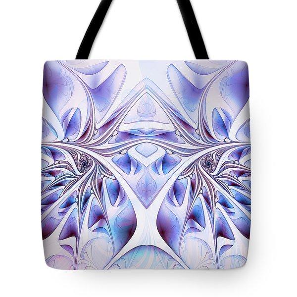 Tote Bag featuring the digital art Fairy Wings by Jutta Maria Pusl