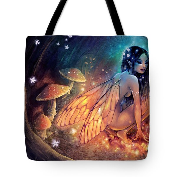 Fairydust Nest Tote Bag by Caroline Jamhour