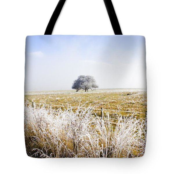 Tote Bag featuring the photograph Fairytale Winter In Fingal by Jorgo Photography - Wall Art Gallery
