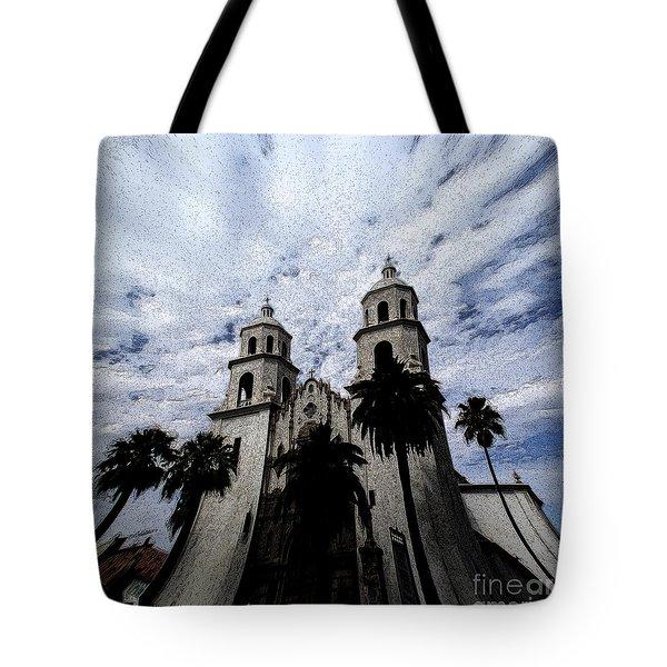 Faith Arizona Tote Bag