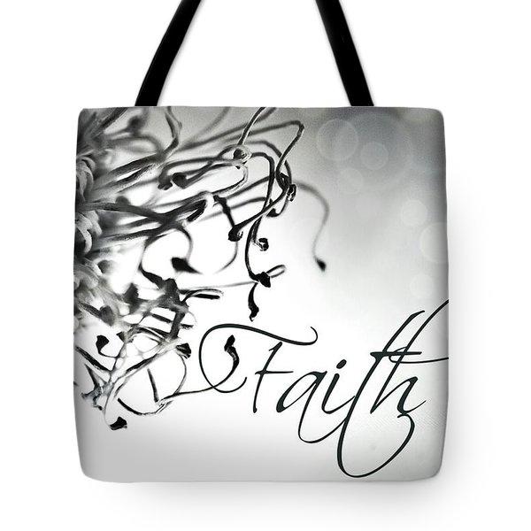 Faith Tote Bag by Bobby Villapando