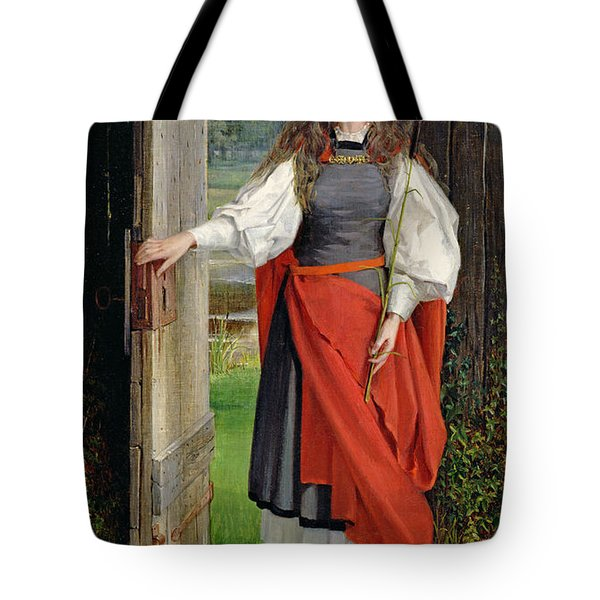 Faith Tote Bag by George Dunlop Leslie
