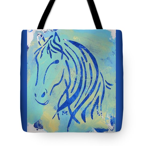 Tote Bag featuring the painting Faith by Candace Shrope