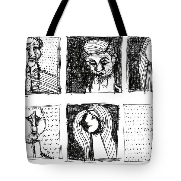 Falbulas No. 8  Tote Bag