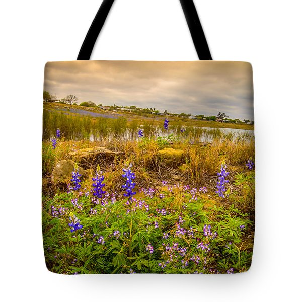 Zapata Falcon Lake 2 Tote Bag by Leticia Latocki