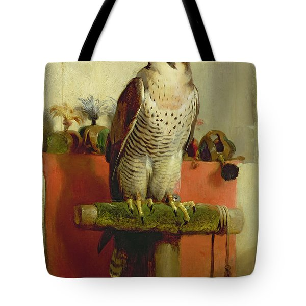 Falcon Tote Bag by Sir Edwin Landseer