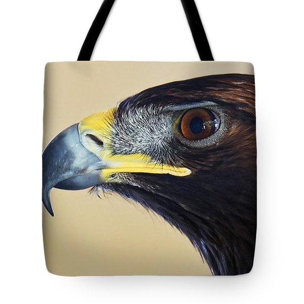 Falconer's Hawk - Harris Hawk Tote Bag
