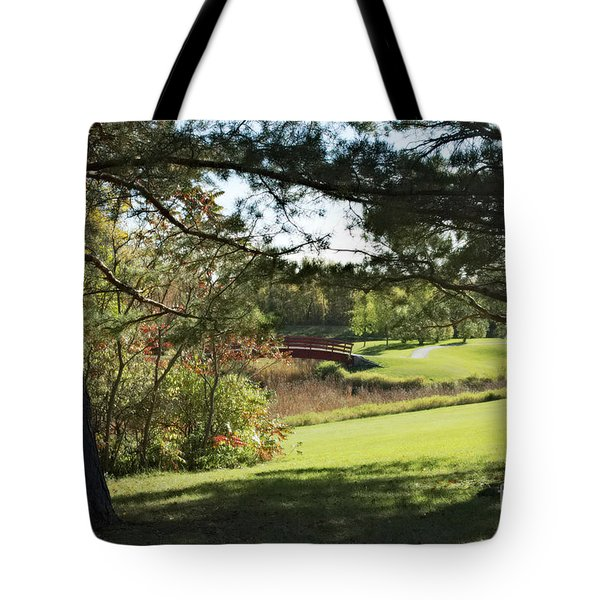 Tote Bag featuring the photograph Fall 2015 2  by Cendrine Marrouat