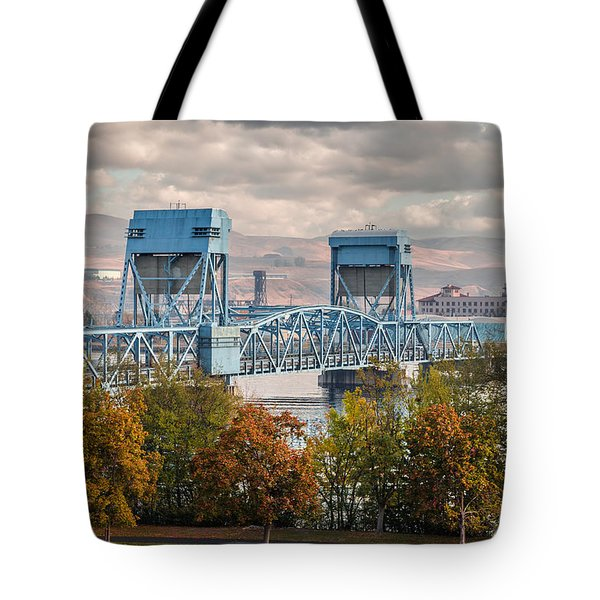 Fall 2015 Blue Bridge Tote Bag