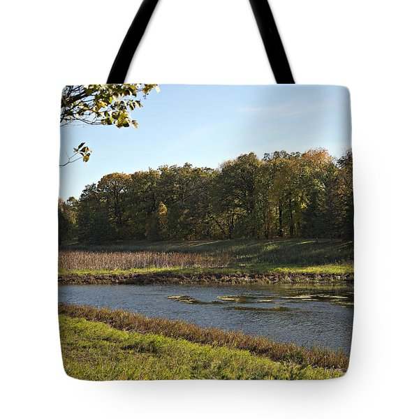 Tote Bag featuring the photograph Fall 2015 by Cendrine Marrouat