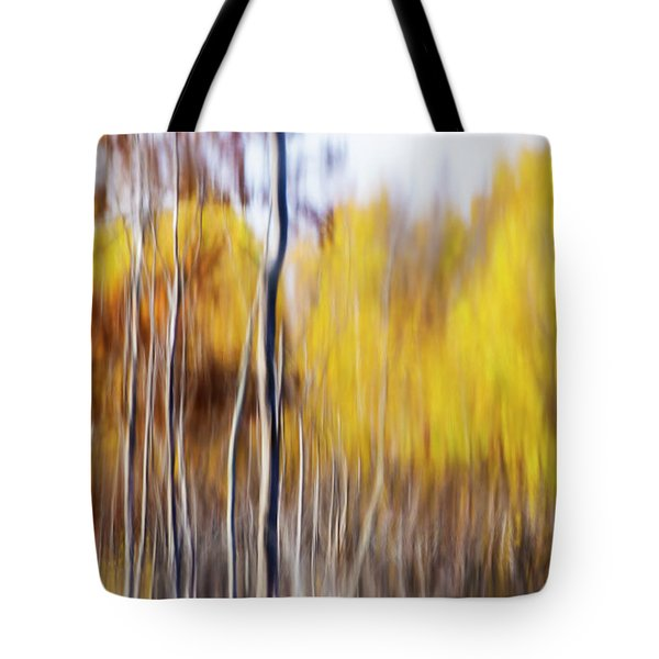 Tote Bag featuring the photograph Fall Abstract by Mircea Costina Photography