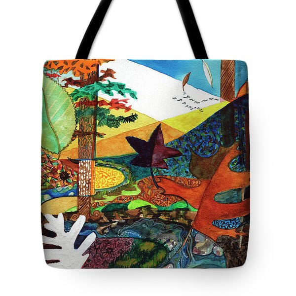 Fall Along The Patuxent Tote Bag