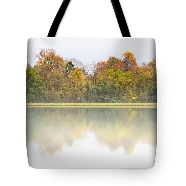 Fall And Fog Tote Bag