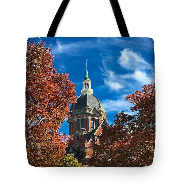 Fall And The Dome Tote Bag