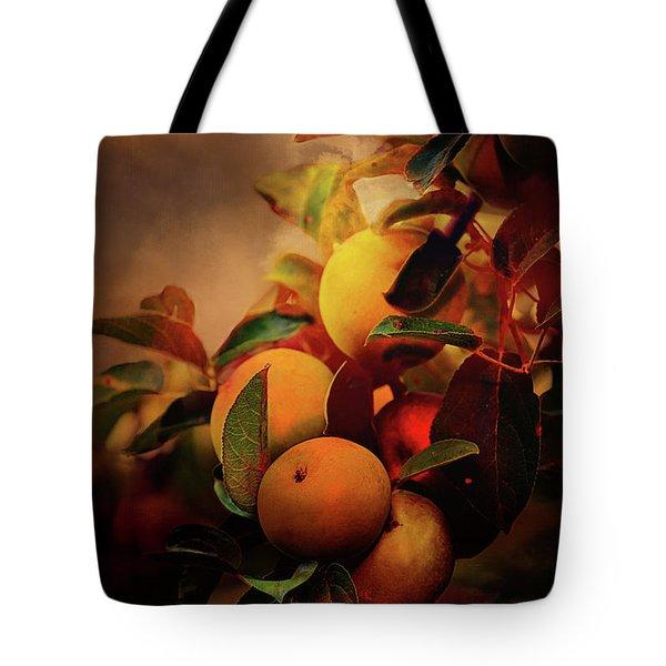Fall Apples A Living Still Life Tote Bag