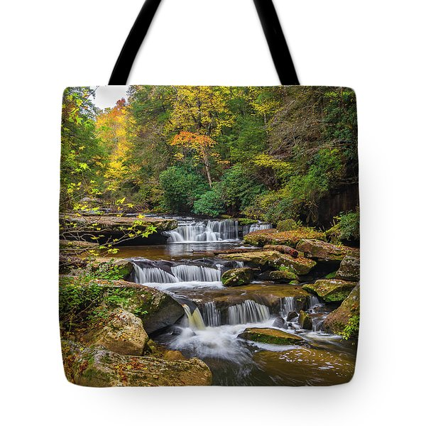 Fall At Bark Camp Creek Tote Bag