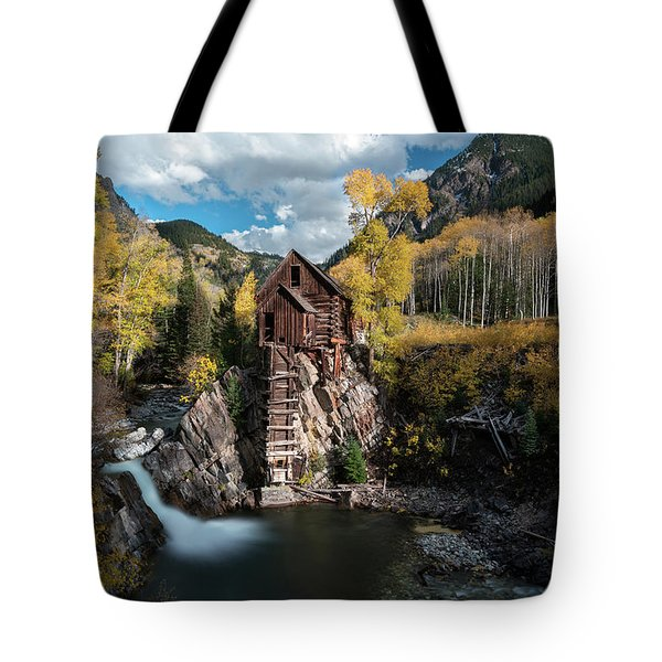 Fall At Crystal Mill Tote Bag