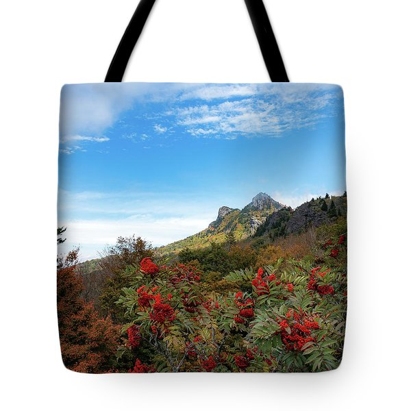 Fall At Grandfather Mountain Tote Bag