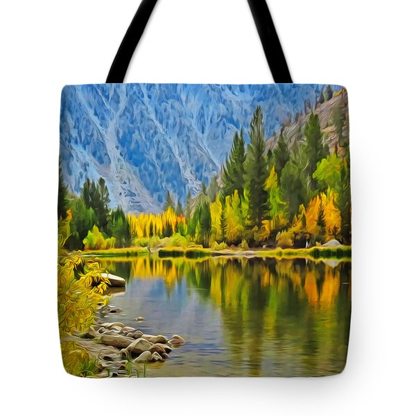 Fall At North Lake Tote Bag