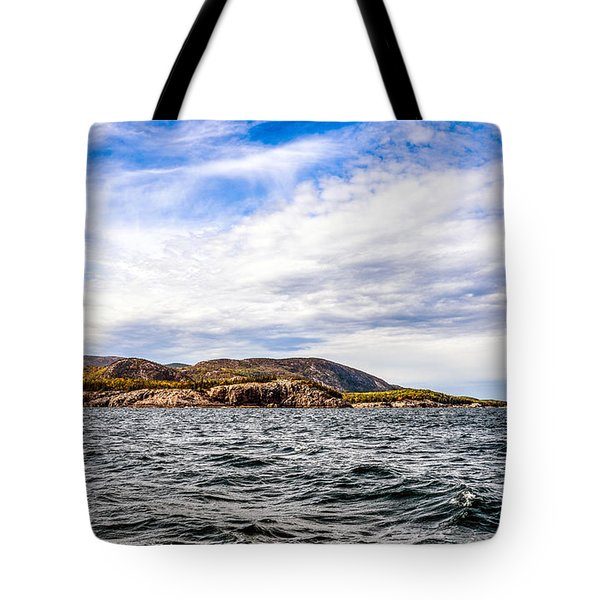 Tote Bag featuring the photograph Fall At Somes Sound by Anthony Baatz
