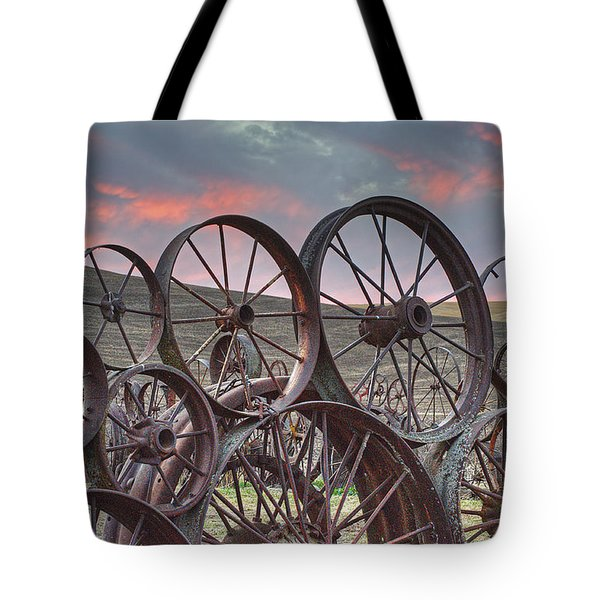Fall At The Dahman Barn II Tote Bag