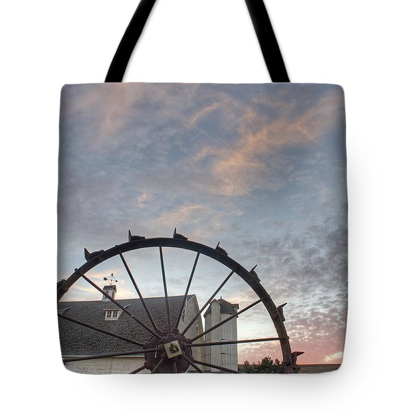 Fall At The Dahman Barn I I I Tote Bag