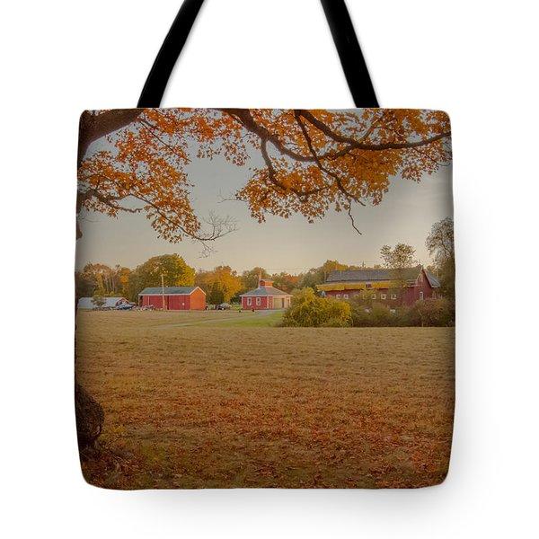 Fall At The Farm Tote Bag