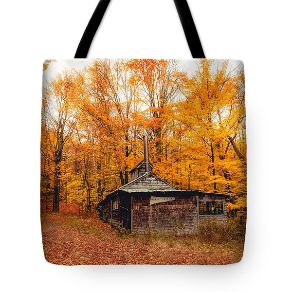 Fall At The Sugar House Tote Bag
