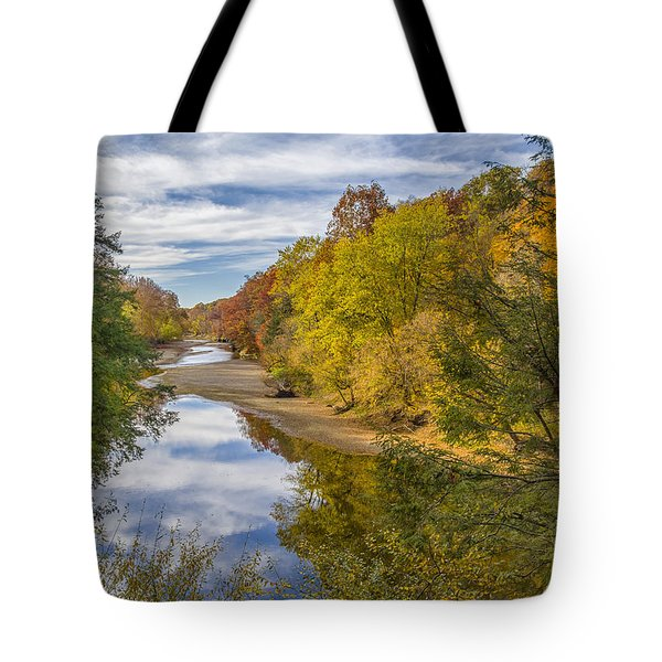 Fall At Turkey Run State Park Tote Bag