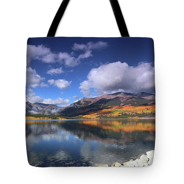 Fall At Twin Lakes Tote Bag