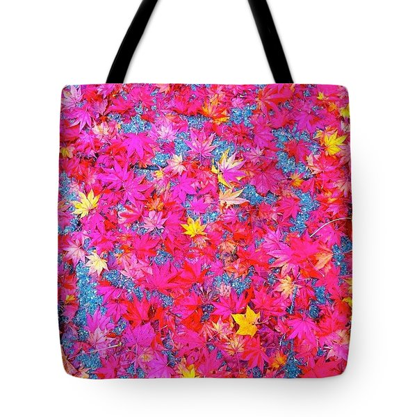 Fallen Color Tote Bag