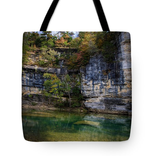 Fall Bluff At Ozark Campground Tote Bag