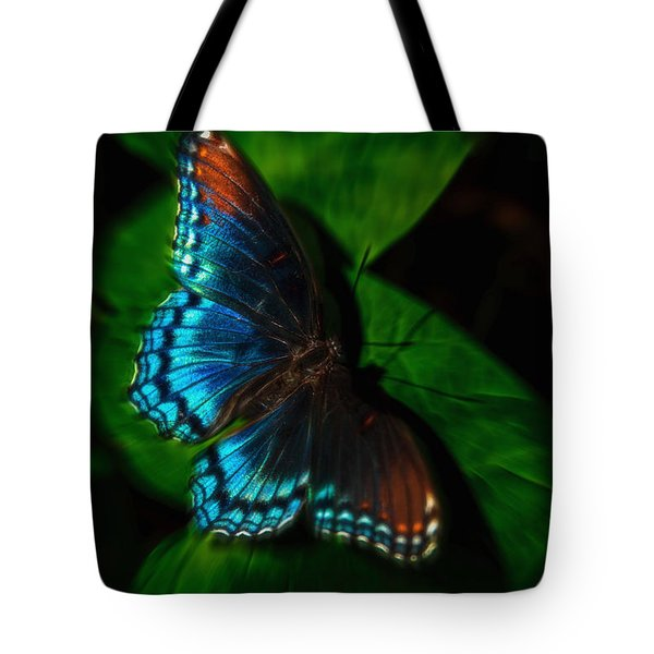 Fall Butterfly Tote Bag