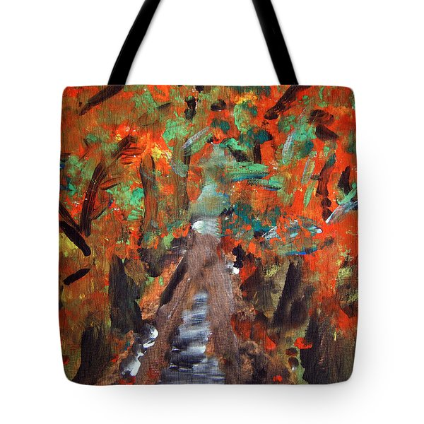 Fall By Colleen Ranney Tote Bag