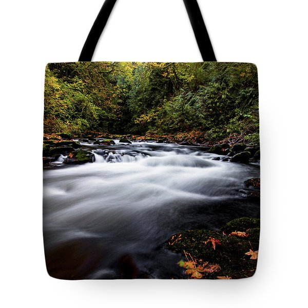 Fall Color At Cedar Creek Tote Bag