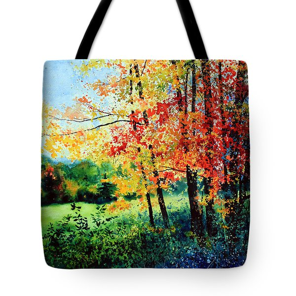 Fall Color Tote Bag by Hanne Lore Koehler